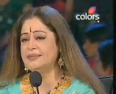 Emotional Reaction of Kirron Kher